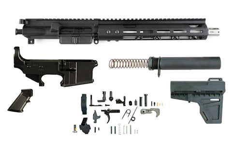"300 Blackout (10.5"" SS Barrel & 10"" M-Lok Handguard) AR 15 - Complete Build Kit - 300-BlackoutUpper.com"