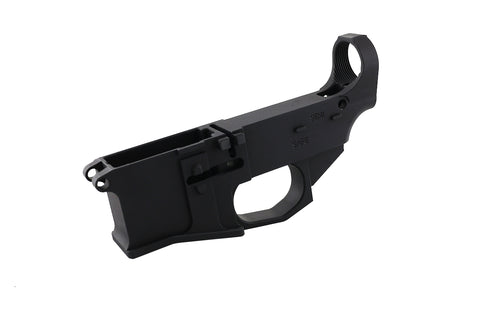 Premium Black Billet 80% Lower with Fire/Safe Engraving (1-Pack) - 300-BlackoutUpper.com