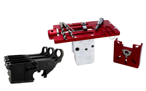 Modulus Arms AR-15 / AR-9 / LR-308 Router Jig Extreme & Black 80% Lower with Fire/Safe Engraving (3-Pack) - 300-BlackoutUpper.com