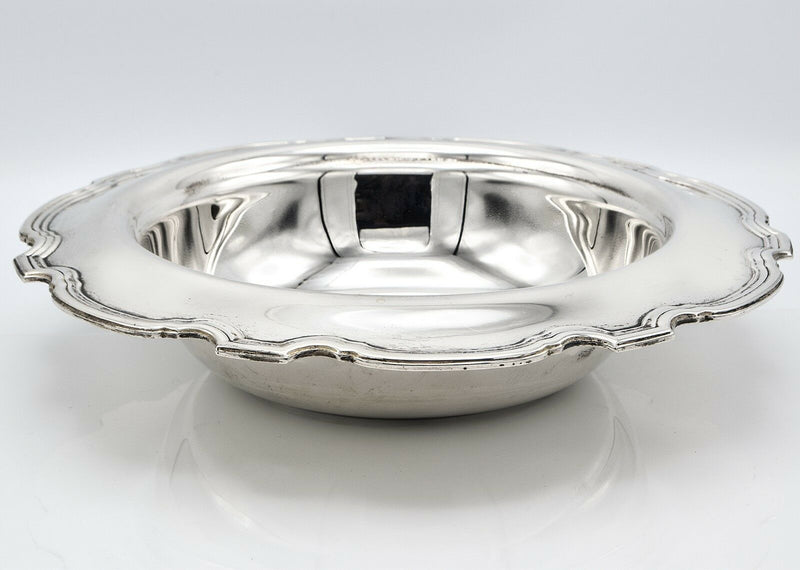 Tiffany & Co Sterling Silver Serving Bowl No Monogram 639.6 Grams 10.75 Inches