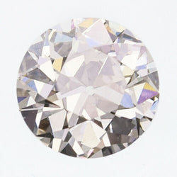 0.73 Carat GIA Certified Old European Brilliant Cut Diamond M Faint Brown SI1