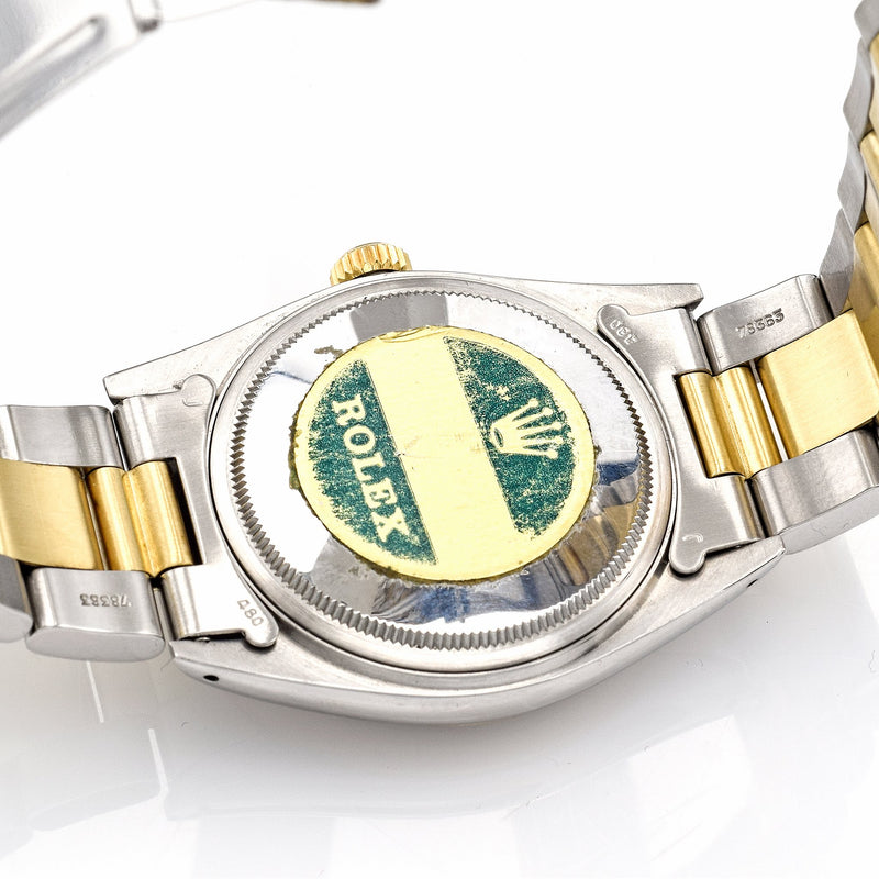 Vintage 1979 Rolex Datejust 18K Yellow Gold Stainless Steel Watch Ref. 16013