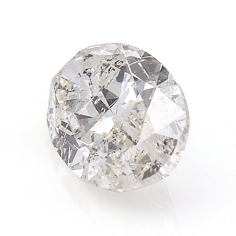 4.75 Carats AGI Certified Oval Brilliant Cut Diamond 13.78 x 8.62 x 5.46 mm H SI2