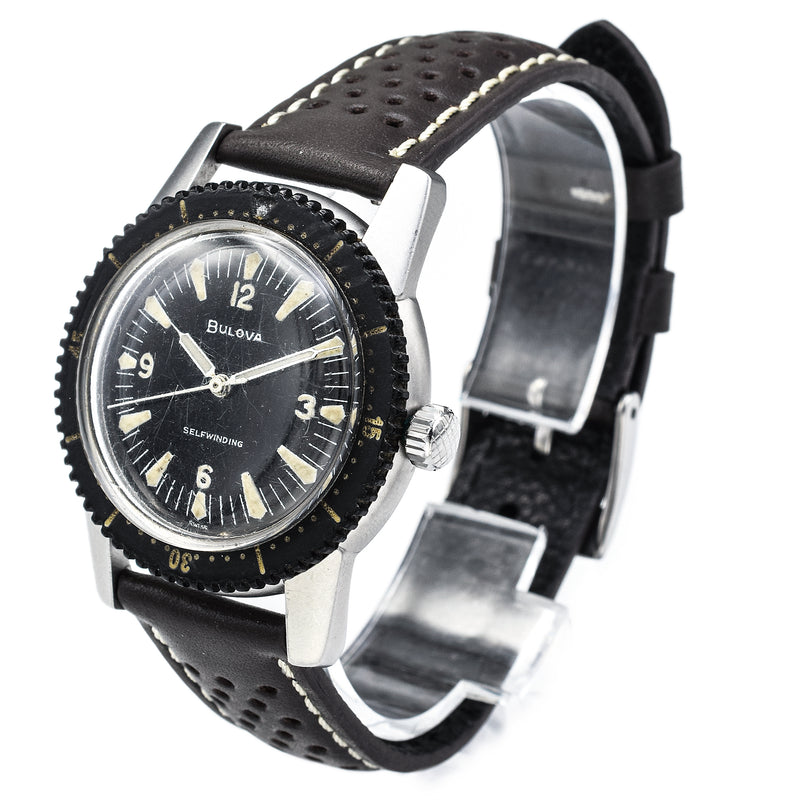 Bulova Skin Diver Nautilus Automatic Men's Watch