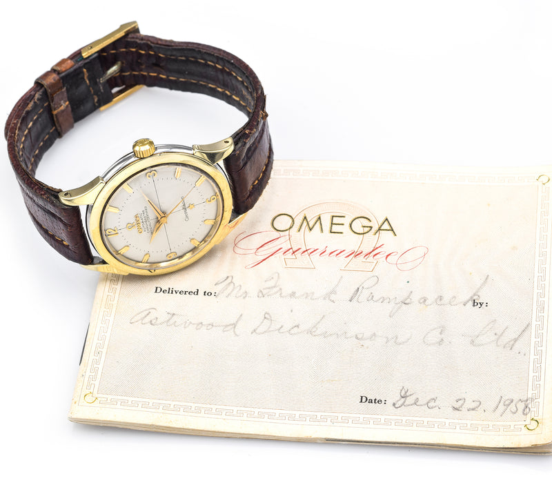 Vintage 1956 Omega Constellation Watch 2852-1 SC Cal. 505