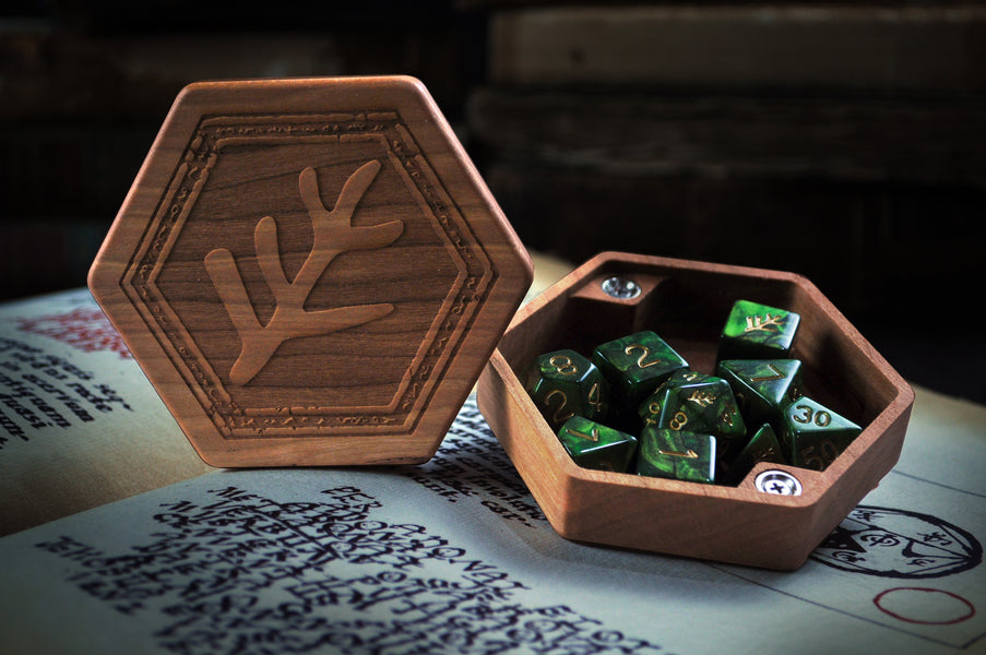 Info For the Elder Dice Wooden Dice Chest Pre-Order Campaign