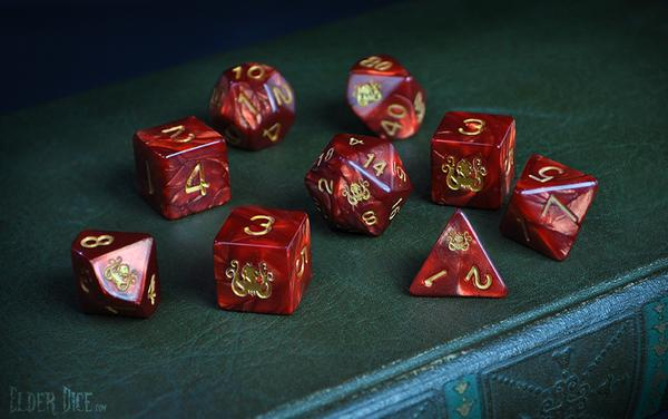 Elder Dice Polyhedral Sets are Back in Stock on the Online Store!