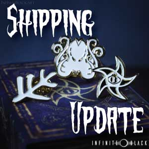 Collectable Pin Shipping Update