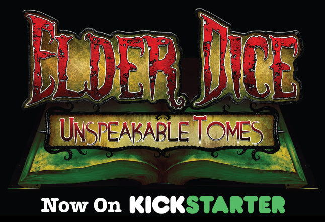 Elder Dice: Unspeakable Tomes is Now Live on Kickstarter!
