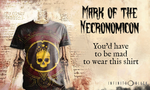 The Mark of the Necronomicon shirt