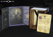Astral Elder Sign Deck Box open with lore card