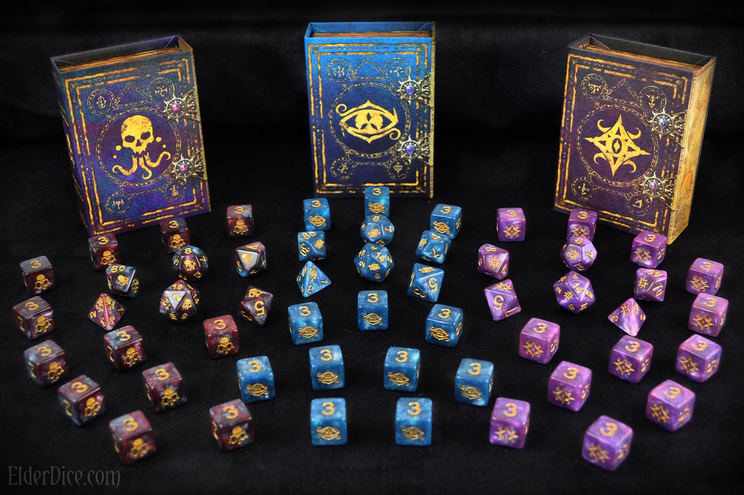 Complete Elder Dice: The Colors out of Space Collection