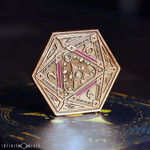 Sigil of the Dreamlands Copper Coin