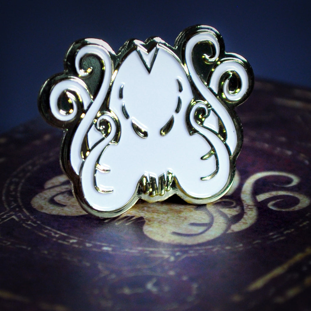 The Brand of Cthulhu collectible pin