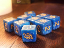 The Eye of Chaos d6 dice set