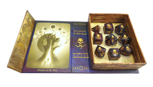 Elder Dice - Seal of Yog-Sothoth Polyhedral Set - Nebula