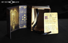 purple Sigil of the Dreamlands deck box with lore card