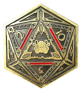 Brand of Cthulhu D2 Coin