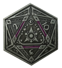 Sigil of the Dreamlands silver coin