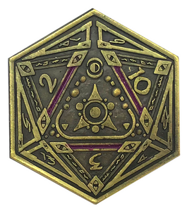 Sigil of the Dreamlands gold coin