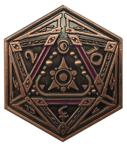 Sigil of the Dreamlands D2 Coin