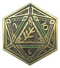 Elder Sign D2 Coin
