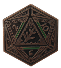 Copper Elder Sign Coin