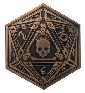 Mark of the Necronomicon D2 Coin