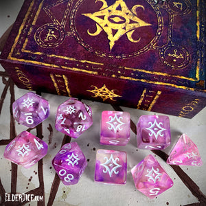 Star of Azathoth Dice - Supernova Polyhedral Set