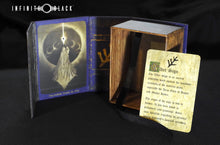 blue Elder Sign deck box with lore card