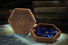 Premium Wooden Dice Chest - Astral Elder Sign