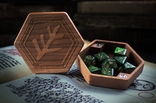 Premium Wooden Dice Chest - Elder Sign