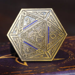 Gold Astral Elder Sign Coin
