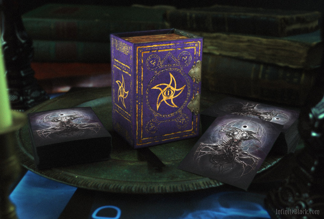 Trading Card Deck Box - Astral Elder Sign