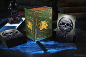 Trading Card Deck Box - Brand of Cthulhu
