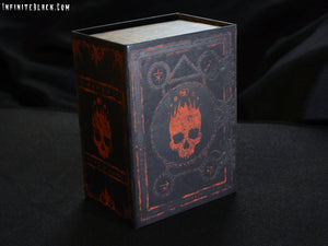 The Mark of the Necronomicon trading card deck box