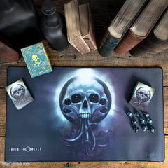 Yog-Sothoth is the Gate premium stitched-edge playmat