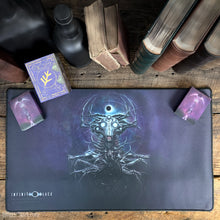 Whisperer in the Web premium stitched-edge playmat