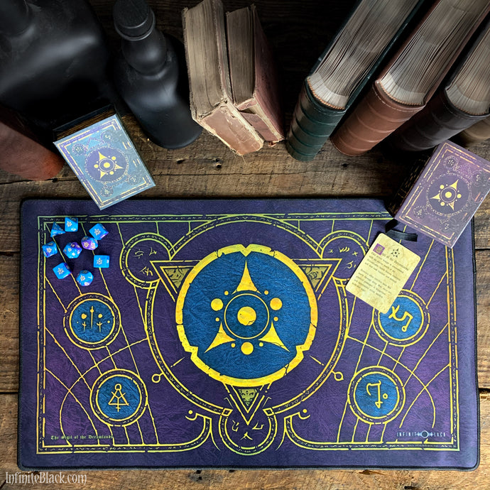 The Sigil of the Dreamlands premium stitched-edge playmat