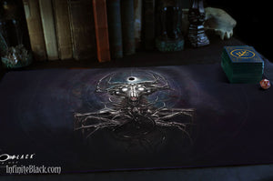 """Whisperer in the Web"" Playmat"