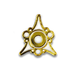 gold and white Sigil of the Dreamlands pin