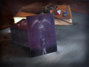 "Playing card sleeves with art ""Yog-Sothoth is the Key"" by David LaRocca"