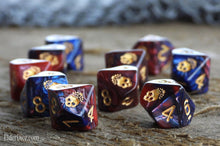 Mark of the Necronomicon Dice - Blood and Magick d10 Set