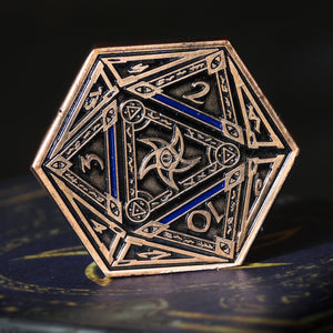 The Astral Elder Sign copper coin