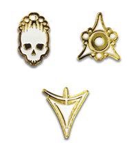 Unspeakable Tomes Complete Collectable Enamel Pin Set