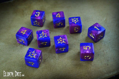 Elder Dice  - Tube of Sigil of the Dreamlands d6 Dice