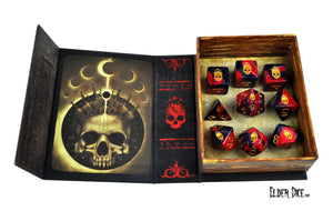 Elder Dice - Mark of the Necronomicon Polyhedral Set
