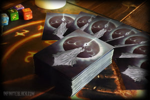 "Card Sleeves - ""Yog-Sothoth Knows the Gate"""