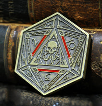 The gold coin featuring the Seal of Yog-Sothoth