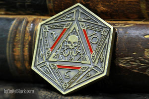 Seal of Yog-Sothoth d2 Coin